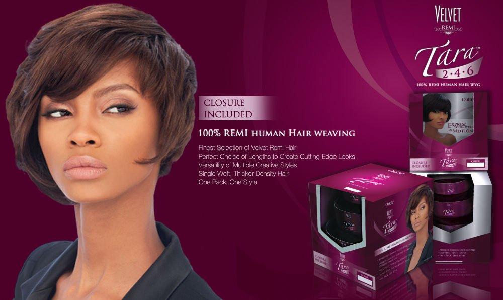 Amazon Outre Velvet Tara 246 Color 1 Remi Human Hair Weave
