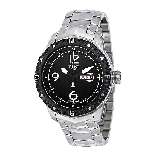 Tissot Reloj Analógico para Hombre de Automático con Correa en Acero Inoxidable T062.430.11.057.00: Tissot: Amazon.es: Relojes