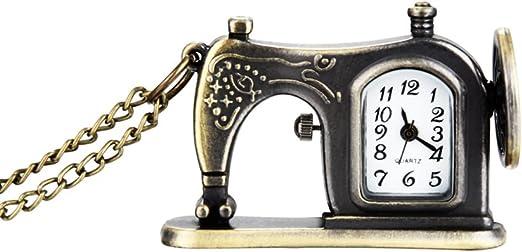 Liamostee - Reloj de Bolsillo con Cadena y Cadena para Collar ...