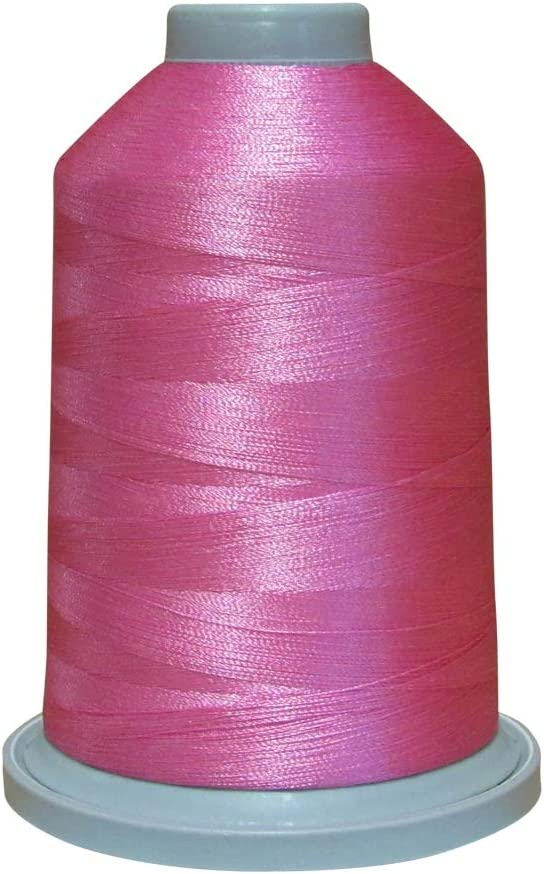 Glide Thread Trilobal Polyester No 40-5000 Meter Spool 70189 Pink