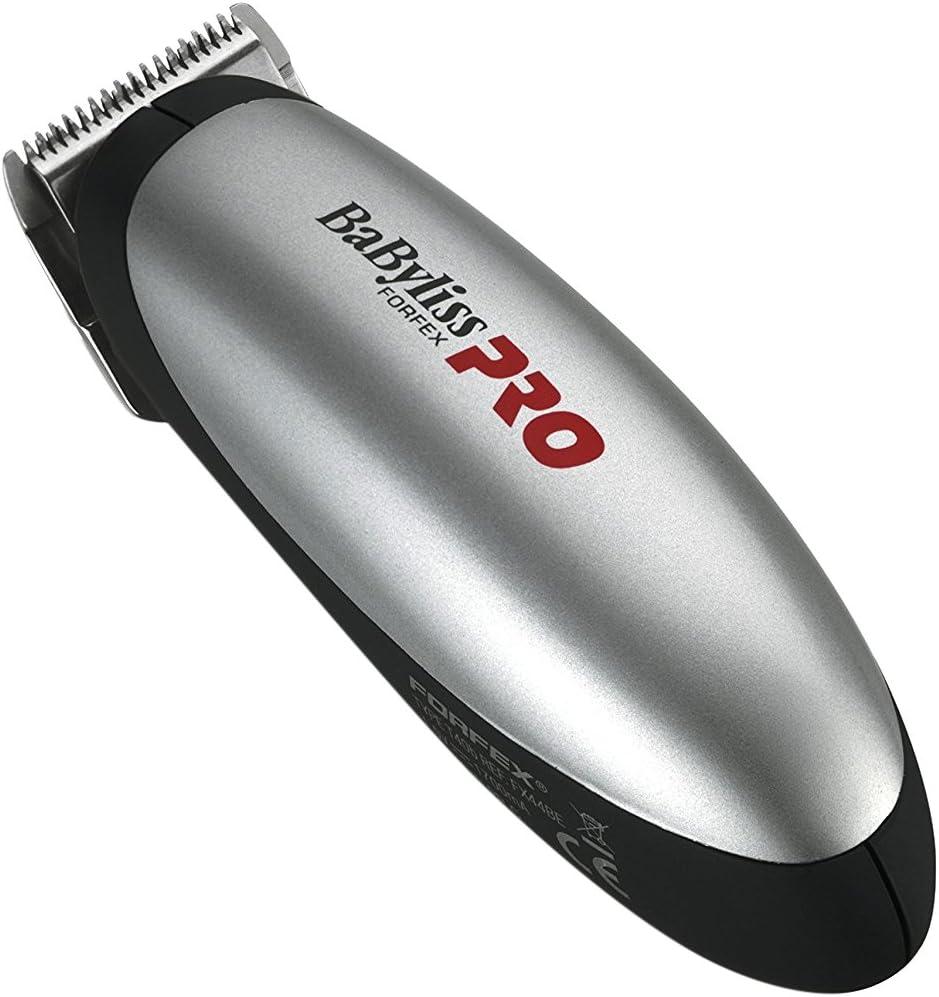 Mini cortacésped BaBylissPRO 3030050006810 Forfex Pro FX44E, color plateado