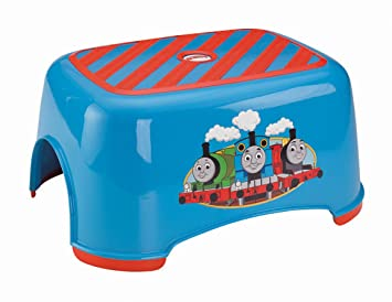 Fisher-Price Thomas u0026 Friends TrackMaster Stepstool  sc 1 st  Amazon.com : train step stool - islam-shia.org