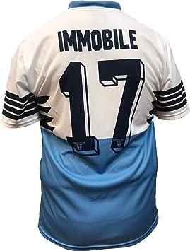 Camiseta Jersey Futbol S.S. Lazio Ciro Immobile Replica Oficial ...