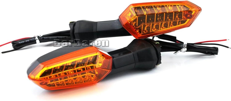 Moto clignotant LED clignotant clignotant Lampe Indicateur pour Kawasaki Z250/Z800/xvz10000/KLE 650/VERSYS 2010 2016