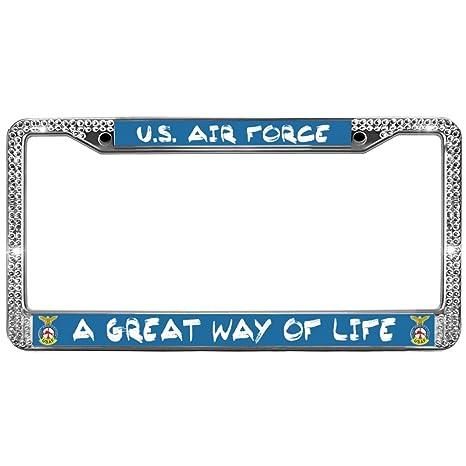 Amazon com: Diamond Crystal License Frame Plate A Great Way
