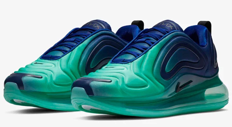 Nike Divine, Chaussures Fitness Femme Bleu Roi Noir Jade