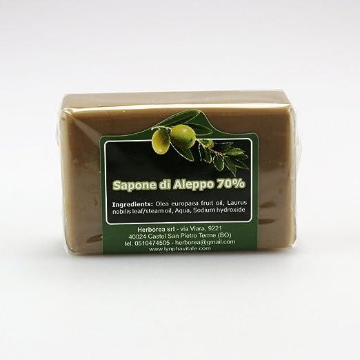 11 opinioni per Sapone di Aleppo 70% Olio di Alloro