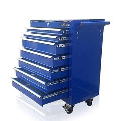 PRO-TOOLS - Carro de herramientas, con ruedas, de color azul