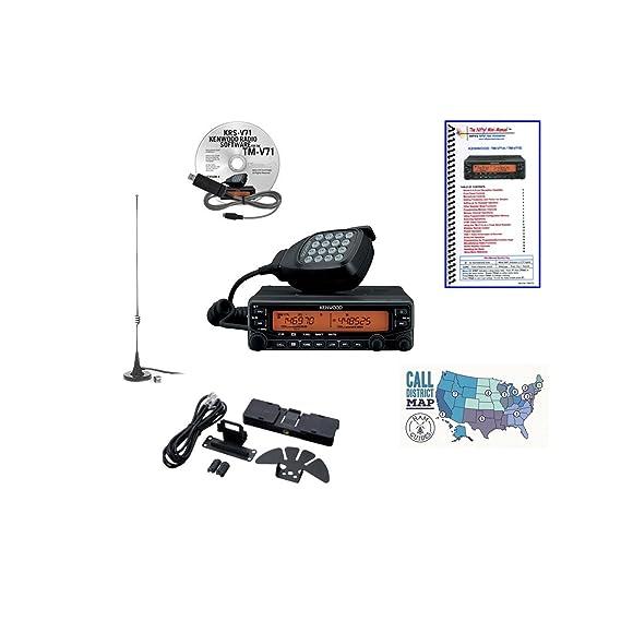 Amazon com: Kenwood TM-V71A Radio - Programming Software