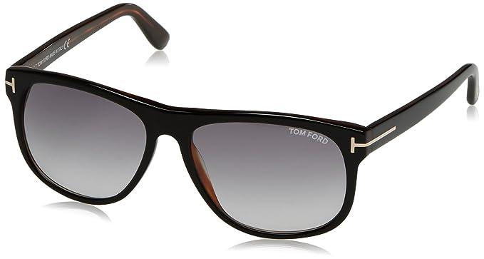 Tom Ford Herren Sonnenbrille »Olivier FT0236«, schwarz, 02N - schwarz/grün