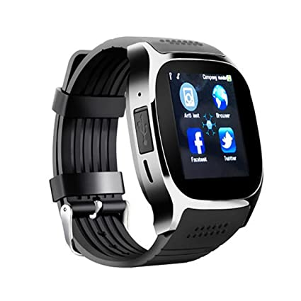 Amazon.com : Dreamyth T8 BT3.0 Smart Watch Support SIM and ...