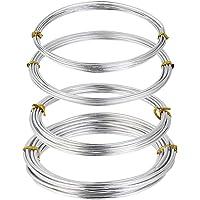 Decareta, 4 rollos de alambre de aluminio