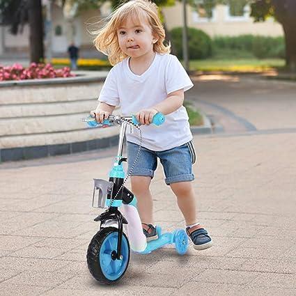 SOULONG Patinete Scooter con 3 Ruedas de PU para Niños Kick ...