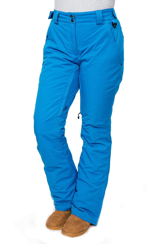 Stayer Sporthose Winterhose Thermo-Hose Herren Damen Freeride Snowboad-Hose Skihose Dschungel Blau