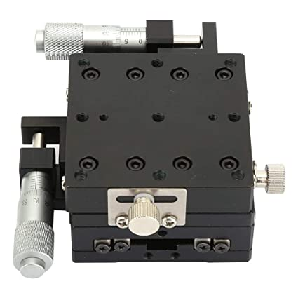 XYZ 3-Axis Manual Linear Stage 80x80mm Micrometer w// Crossed-Roller Bearing os##