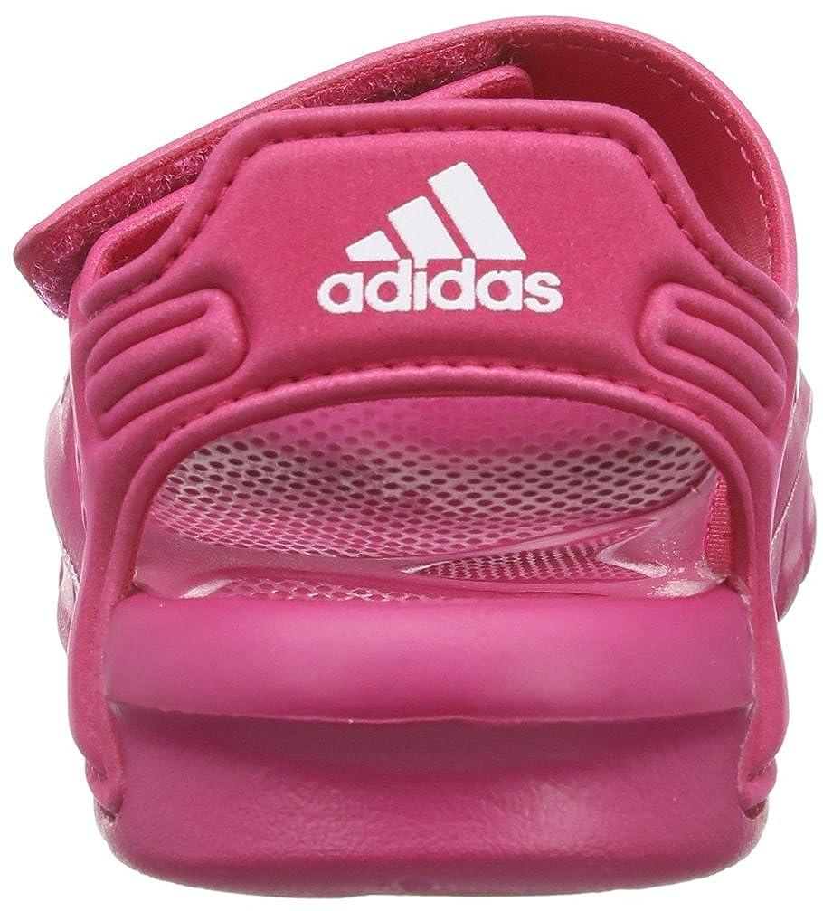 buy popular 18b99 e8292 adidas Performance Akwah 8 I D65554 - Zapatos para bebé de caucho para  unisex-bebé, color rosa, talla 26 Amazon.es Zapatos y complementos