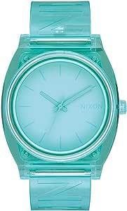 Nixon Time Teller P A119. Reloj de hombre resistente al agua 100 m (esfera de reloj de 40 mm, correa de poliéster)