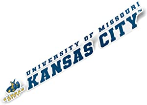 University of Missouri-Kansas City UMKC Kangaroos NCAA Name Logo Vinyl Decal Laptop Water Bottle Car Scrapbook (8 Inch Sticker)