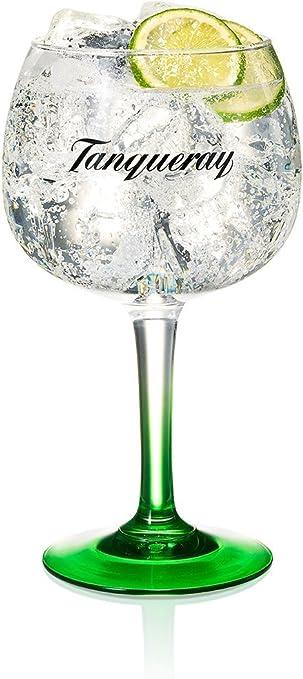Tanqueray, copa para ginebra, copa de cristal tipo globo, en caja ...