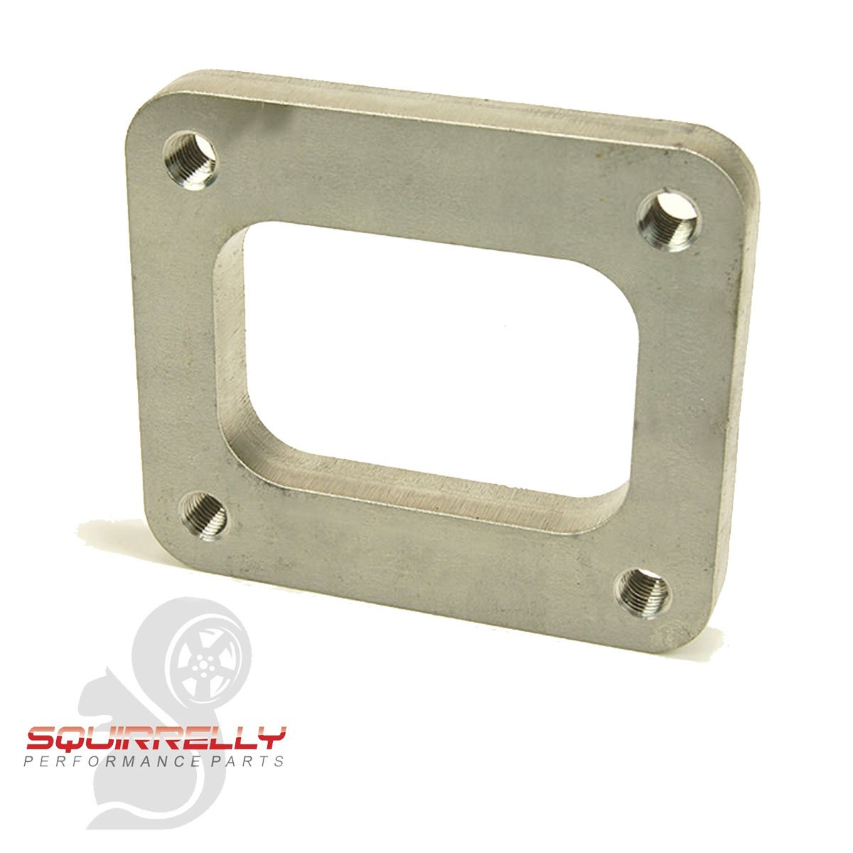 Squirrelly T4 304 Stainless Steel Non-Divided Turbo Inlet Flange Exhaust Manifold Squirrelly Performance Parts