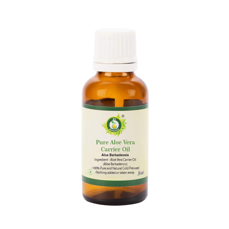 R V Essential 純粋なアロエベラキャリアオイル630ml (21oz)- Aloe Barbadensis (100%ピュア&ナチュラルコールドPressed) Pure Aloe Vera Carrier Oil B0777RRVWT  630ml (21oz)