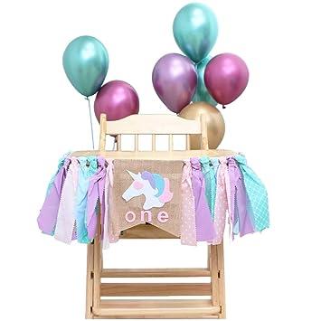 Amycute Decoración de Cumpleaños Niños de 1 año, One Banner ...