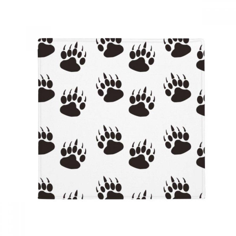 DIYthinker Paw Print Claw Silhouette Predect Animal Anti-Slip Floor Pet Mat Square Home Kitchen Door 80Cm Gift