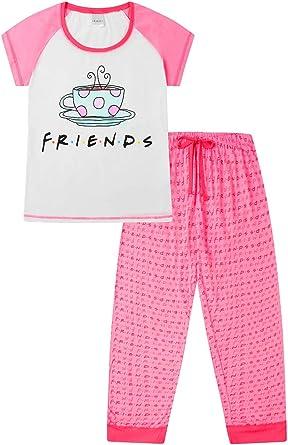FRIENDS - Pijama de café para mujer