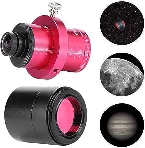 Instrumento ecuatorial CMOS ST4 Guide Star Qiilu C/ámara del Ocular electr/ónico del telescopio T7C