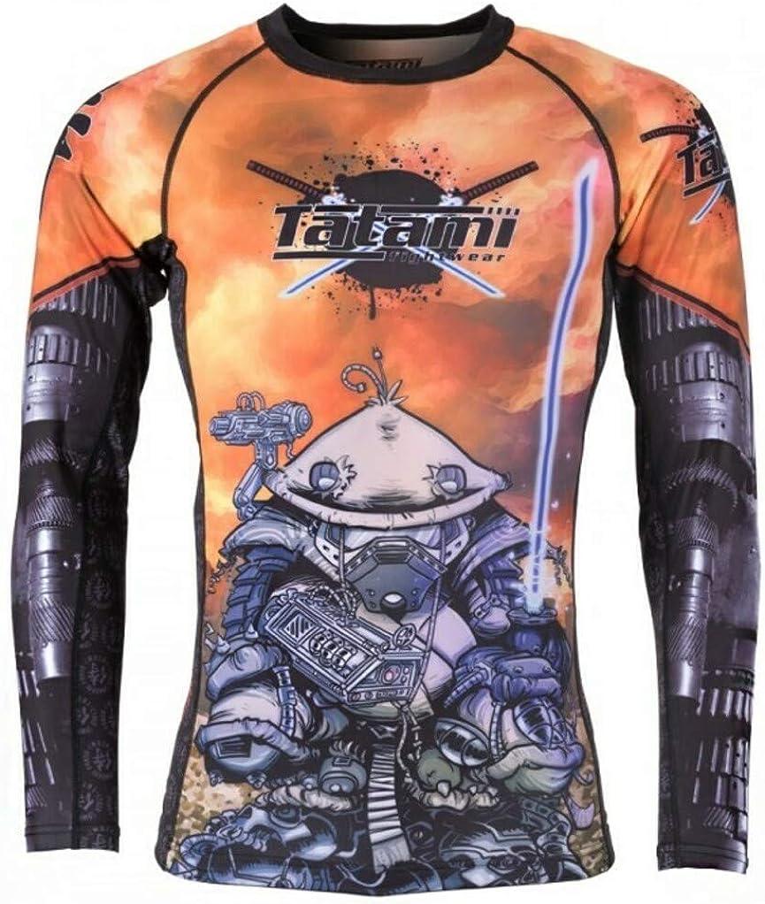 Tatami Ninja 2099 MMA BJJ Jiu Jitsu ShortSleeve Short Sleeve SS Rashguard Rash
