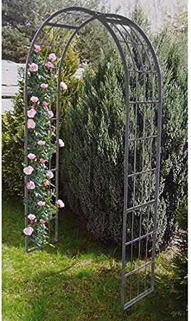 Florabis Garten-Rosenbogen 220x120x40cm Ayuda Posicionamiento Reja ...