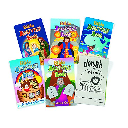 Bible Activity Pads - 48Pg (1 dozen) - Bulk by Fun Express (Image #2)