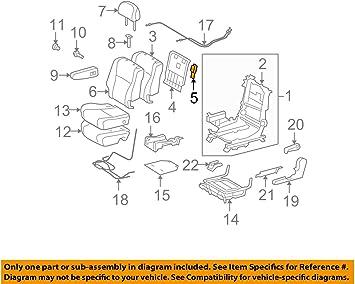 TOYOTA Genuine 72996-0E070-E0 Seat Back Cover