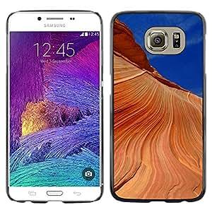 "For Samsung Galaxy S6 , S-type Naturaleza Hermosa Forrest Verde 190"" - Arte & diseño plástico duro Fundas Cover Cubre Hard Case Cover"