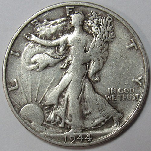 1944 S Walking Liberty Half Dollar 50c Very Fine (1944 Walking)