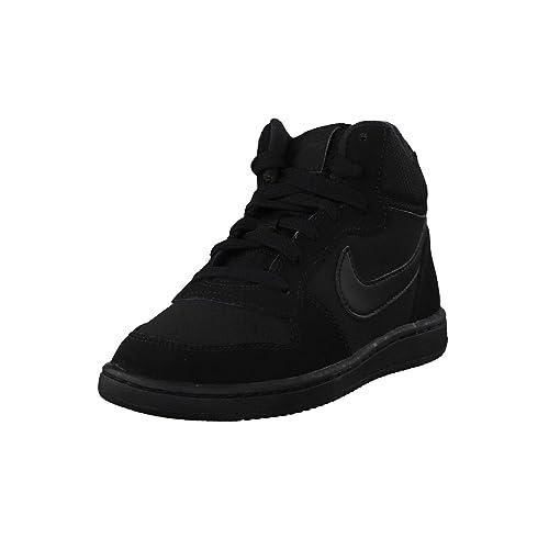 sale retailer aa3b1 58494 Nike Court Borough Mid Little Kids Style Shoes   839978, Black, 12   Amazon.in  Shoes   Handbags