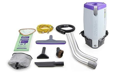 Amazon.com: ProTeam Super Coach Pro 10 QT Backpack Vacuum Cleaner: Home & Kitchen