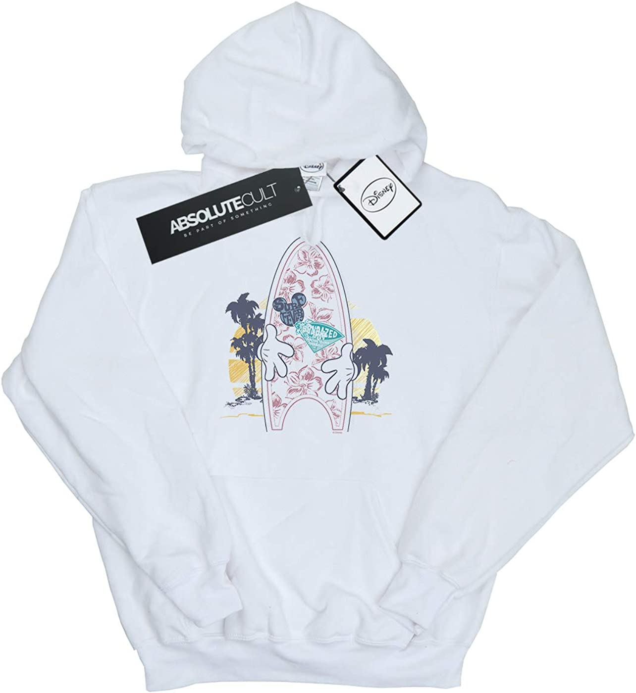 Disney Girls Mickey Mouse Surf Fever Hoodie