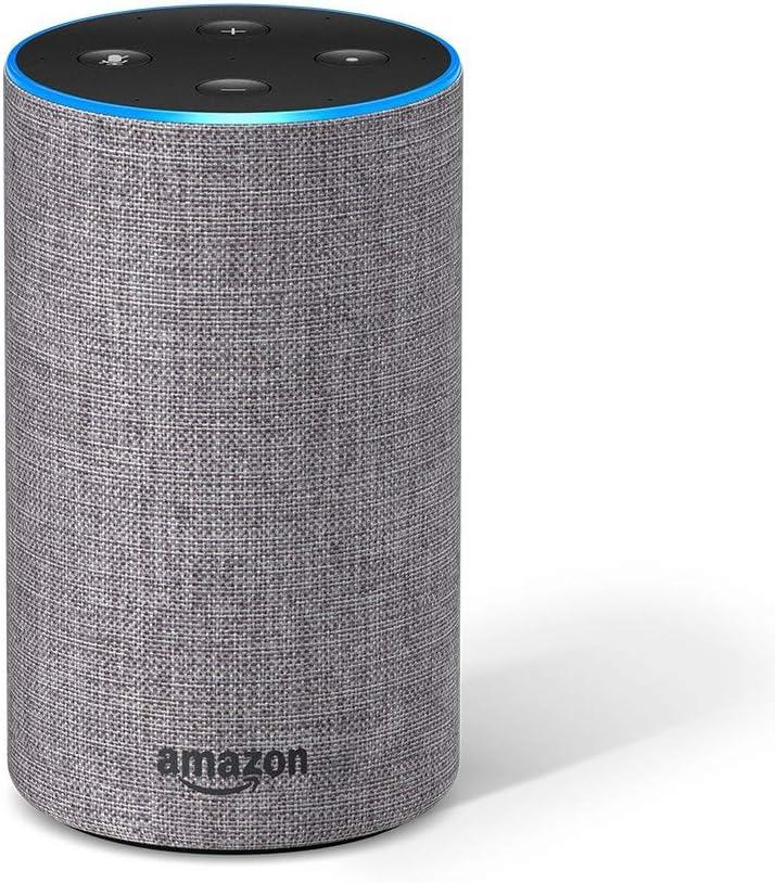 Echo 第2世代 - スマートスピーカー with Alexa、ヘザーグレー + Amazon Music Unlimited (個人プラン4か月分 *以降自動更新)