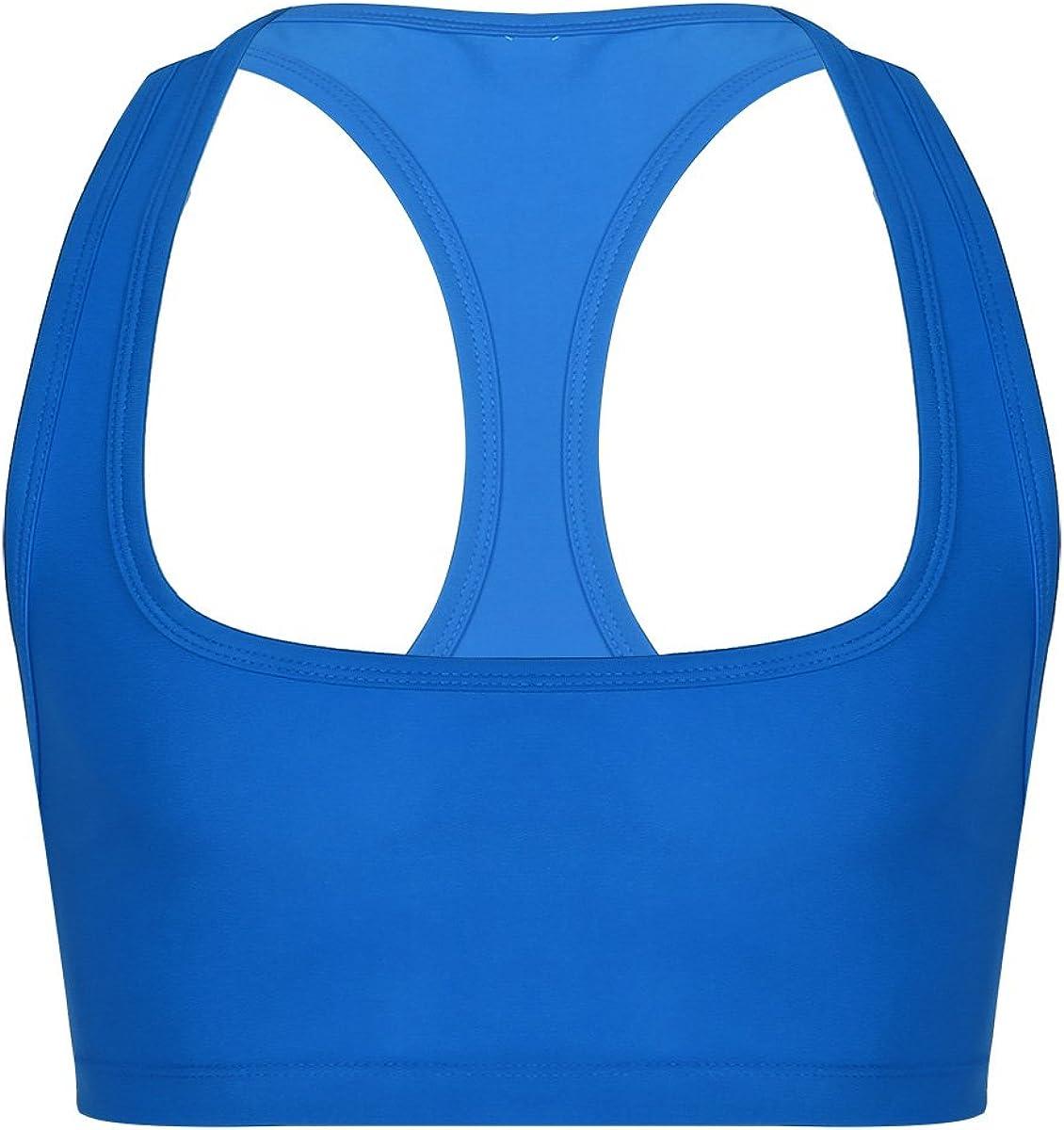 Freebily Mens Bodybuilding Workout Gym Muscle Half Tank Top Fitness Shirt Vest Crop Tops