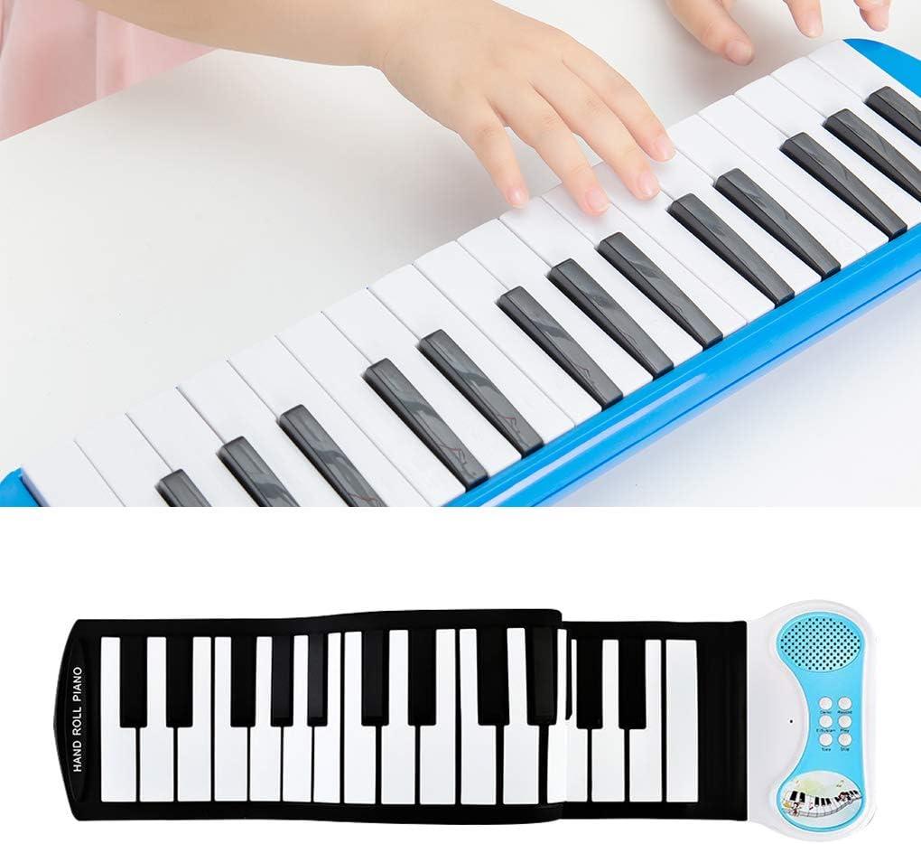 kexinda Piano Portatile Principianti 37 Tasti 1 1 Pieghevole Tastiera di Piano Practice Silicone con laltoparlante