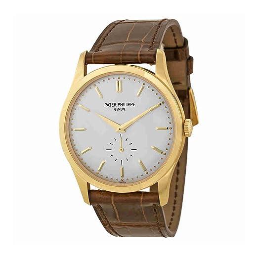 PATEK PHILIPPE Calatrava Hombre Oro Amarillo De 18 K - Reloj 5196j-001: Patek Philippe: Amazon.es: Relojes