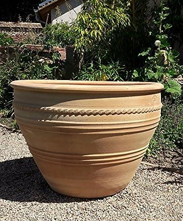Vasi Da Giardino In Terracotta.Mediterranea Terracotta Vaso Fatto A Mano E Resistente Al