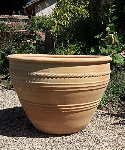 Vasi Grandi Da Giardino.Mediterranea Terracotta Vaso Fatto A Mano E Resistente Al