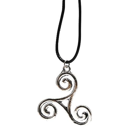 Velvet Box - Teen Wolf Derek Hale Triskelion Necklace Pendant ...