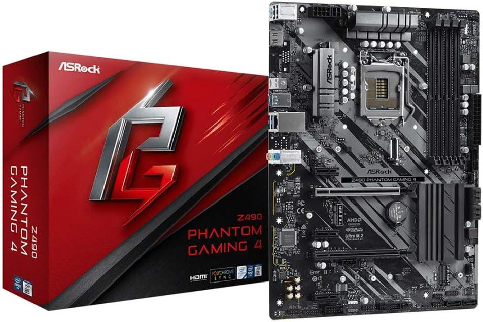 Carte M/ère ASRock Z490 Phantom Gaming 4 Intel LGA 1200