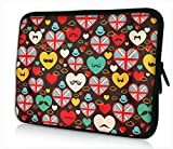 Colorful Hearts 17 inch 17
