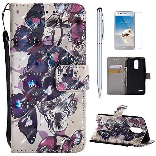 LG Aristo Case, LG Fortune Case, LG Phoenix 3 Case, LG LV3 Case, LG Risio 2 Case, LG Rebel 2 LTE Case, Mellonlu PU Leather Wallet Case [Card Holder] [Magnetic Closure] Kickstand Flip Fold - Sporting Goods Rebel