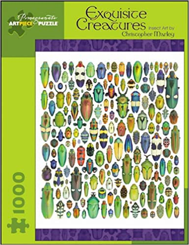 christopher marley exquisite creatures 1000 piece puzzle pomegranate artpiece puzzle