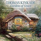 ISBN: 1449482856 - Thomas Kinkade Gardens of Grace 2018 Wall Calendar